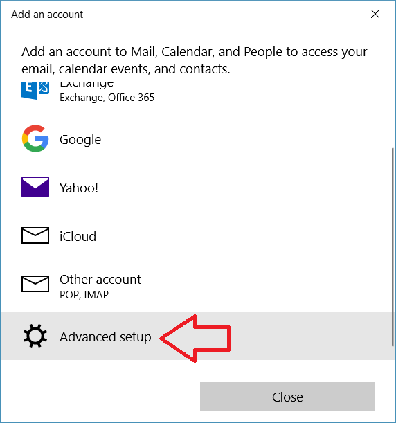 how to setup windows live mail in windows 10